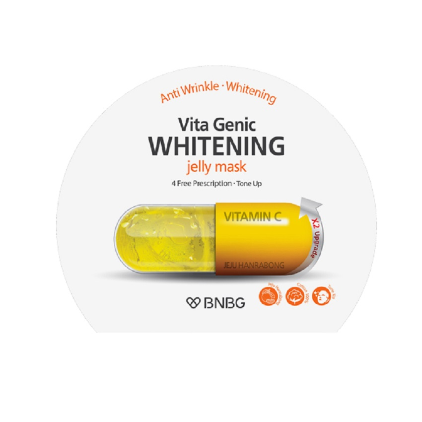 BNBG Маска для лица для сияния кожи VITA GENIC WHITENING JELLY MASK