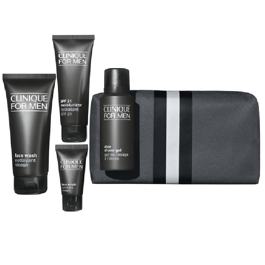 CLINIQUE Набор Great Skin For Him