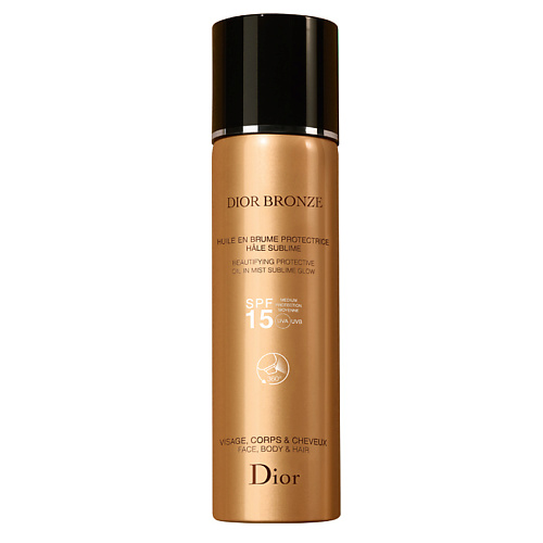 DIOR Масло для загара Bronze Beautifying Protective Oil in Mist SPF15