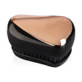 TANGLE TEEZER Расчёска Compact Styler Rose Gold Black