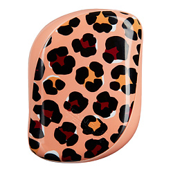 TANGLE TEEZER Расческа для волос Compact Styler hairbrush apricot leopard