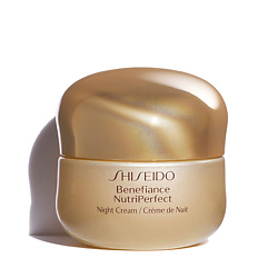 SHISEIDO Ночной Крем Benefiance Nutriperfect